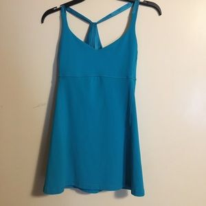 Lululemon practice daily tank top size 8 in surge